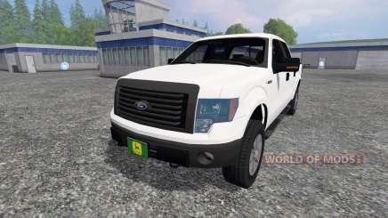 Ford F-150 2010 для Farming Simulator 2015