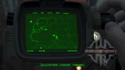 Immersive Map 4k - BLUEPRINT - Full Squares для Fallout 4