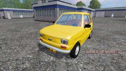 Fiat 126p для Farming Simulator 2015