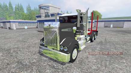 Kenworth T908 [logger] для Farming Simulator 2015