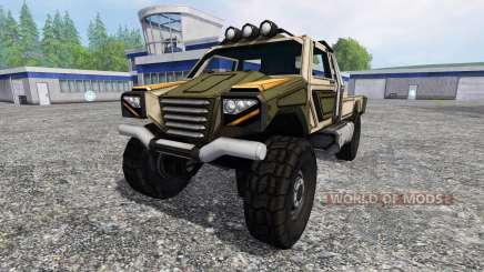 Gekko Utility Vehicle v1.0 для Farming Simulator 2015