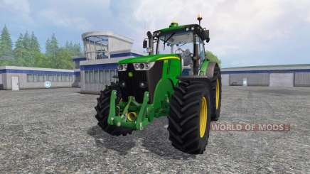 John Deere 7280R v4.0 для Farming Simulator 2015