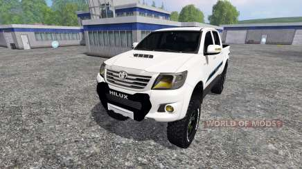 Toyota Hilux v1.2 для Farming Simulator 2015
