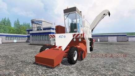 КС-6 для Farming Simulator 2015