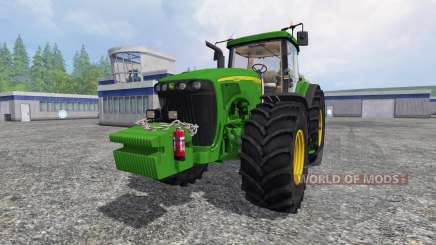 John Deere 8520 [full] для Farming Simulator 2015