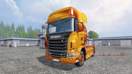 Scania R560 [sitting bull] для Farming Simulator 2015