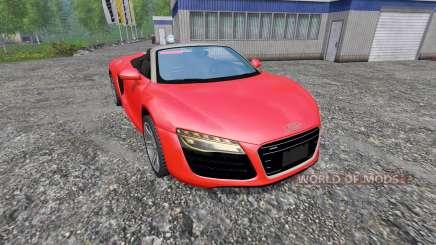Audi R8 Spyder v1.0 для Farming Simulator 2015