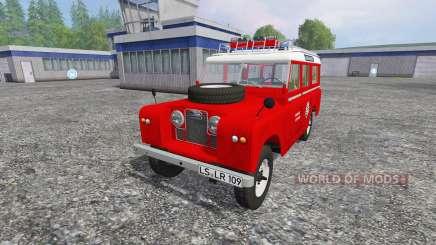 Land Rover Series IIa Station Wagon [feuerwehr] для Farming Simulator 2015