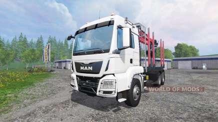 MAN TGS 18.440 [timber carrier] для Farming Simulator 2015