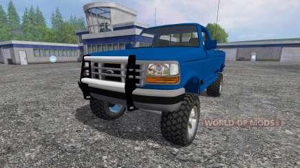 Ford F-1000 [Brasil] для Farming Simulator 2015