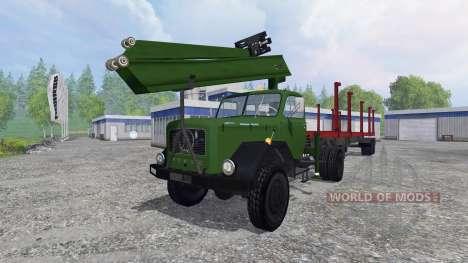 Magirus-Deutz 200D26 1964 [forest] для Farming Simulator 2015