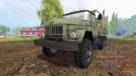 ЗиЛ-131 [лесовоз] для Farming Simulator 2015