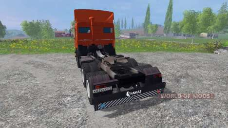 КамАЗ-54115 [красный] для Farming Simulator 2015