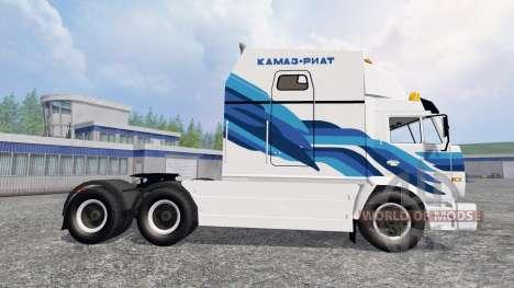 КамАЗ-54112 РИАТ v2.0 для Farming Simulator 2015