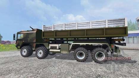 MAN KAT2 для Farming Simulator 2015