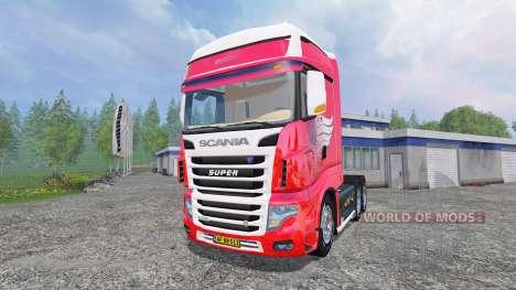 Scania R700 для Farming Simulator 2015