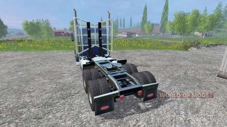 Peterbilt 379 2007 v1.1 для Farming Simulator 2015