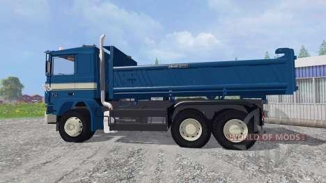 Volvo F12 6x4 [tipper] v1.9 для Farming Simulator 2015