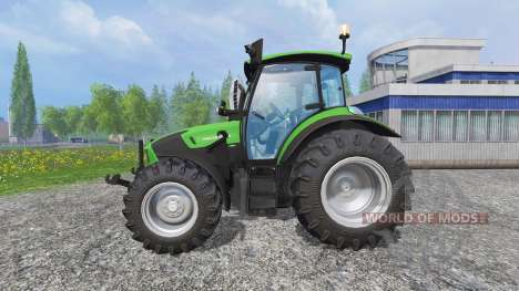 Deutz-Fahr 5130 TTV FL для Farming Simulator 2015