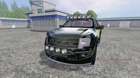 Ford F-150 Raptor [Halo Edition] v1.1 для Farming Simulator 2015