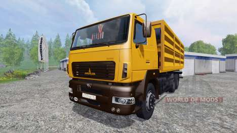 МАЗ-6501 для Farming Simulator 2015