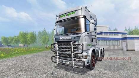 Scania R730 [euro farm] v0.9 для Farming Simulator 2015