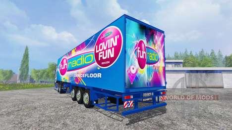 Scania R700 [Fun Radio] для Farming Simulator 2015