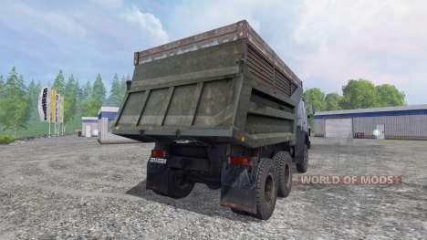 КамАЗ-55111 v4.0 для Farming Simulator 2015