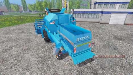 Bizon Z058 [record blue] для Farming Simulator 2015