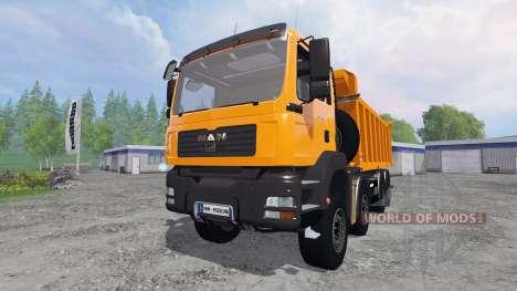 MAN TGA 8x8 [tipper] для Farming Simulator 2015