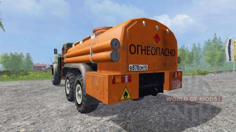 КрАЗ-255 В1 6x6 [топливо] для Farming Simulator 2015