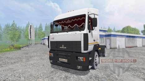 МАЗ-5440А8 [тонар] v1.2 для Farming Simulator 2015