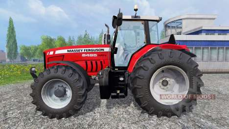 Massey Ferguson 6495 для Farming Simulator 2015