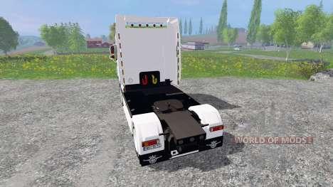 DAF XF105 для Farming Simulator 2015