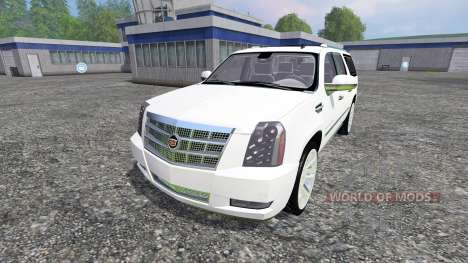 Cadillac Escalade для Farming Simulator 2015