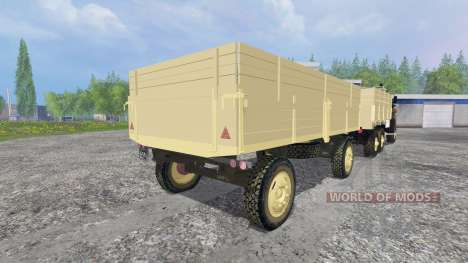 Урал-4320 [ГКБ-817] для Farming Simulator 2015