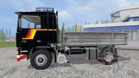 Volvo F12 [kipper] для Farming Simulator 2015