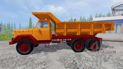 Magirus-Deutz 200D26 1964 [tipper] для Farming Simulator 2015