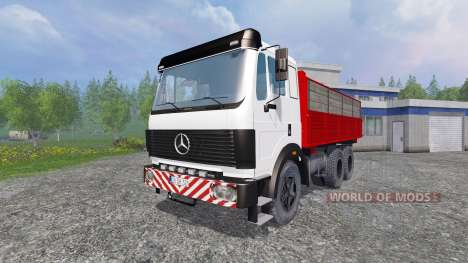 Mercedes-Benz 2435 [tipper] v0.2.5b для Farming Simulator 2015