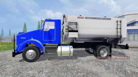 Kenworth T800 [feed truck] для Farming Simulator 2015