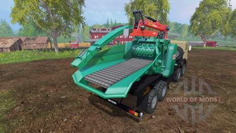 КамАЗ-6350 [JENZ] для Farming Simulator 2015