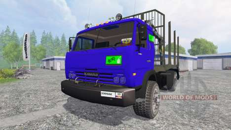 КамАЗ-54115 [лесовоз] v1.0 для Farming Simulator 2015