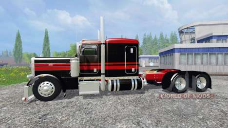 Peterbilt 379 [flat top] для Farming Simulator 2015