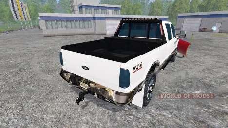 Ford F-250 [plow] для Farming Simulator 2015
