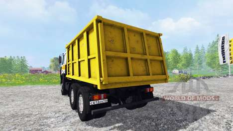 МАЗ-5516 v2.0 для Farming Simulator 2015