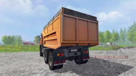 КамАЗ-55111 v1.0 для Farming Simulator 2015