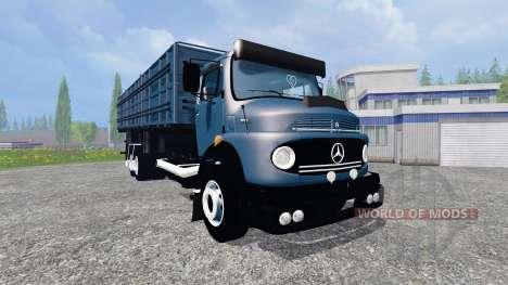 Mercedes-Benz 1513 [multicolored] для Farming Simulator 2015