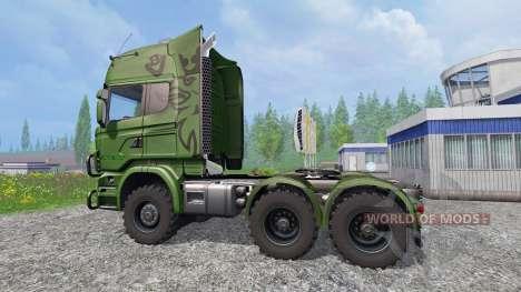 Scania R730 [euro farm] v0.9.5 для Farming Simulator 2015