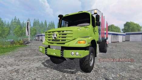 Mercedes-Benz Zetros 1833 [forest] v2.0 для Farming Simulator 2015