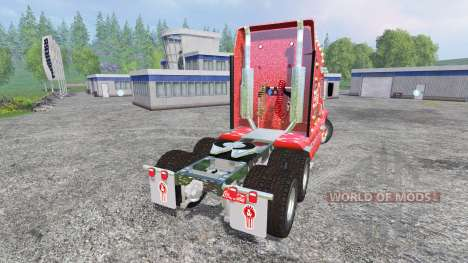 Kenworth T2000 [Coca-Cola Christmas] для Farming Simulator 2015